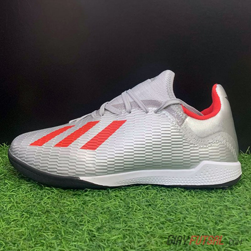 Giày Adidas X Tango 19.2 TF - bạc đỏ