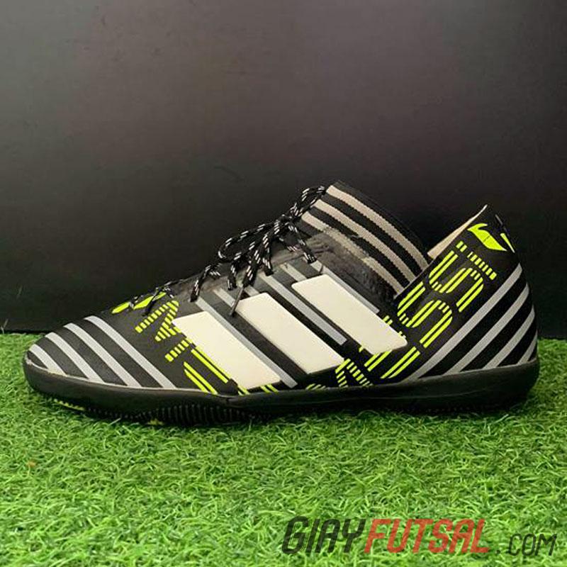 Giày Adidas Messi Nemeziz 17.1 IC - sọc đen