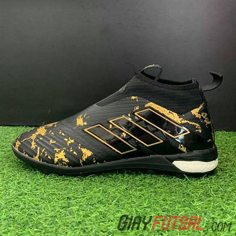 Giày Adidas Ace Tango 17+ Purecontrol TF - đen đồng (SF)