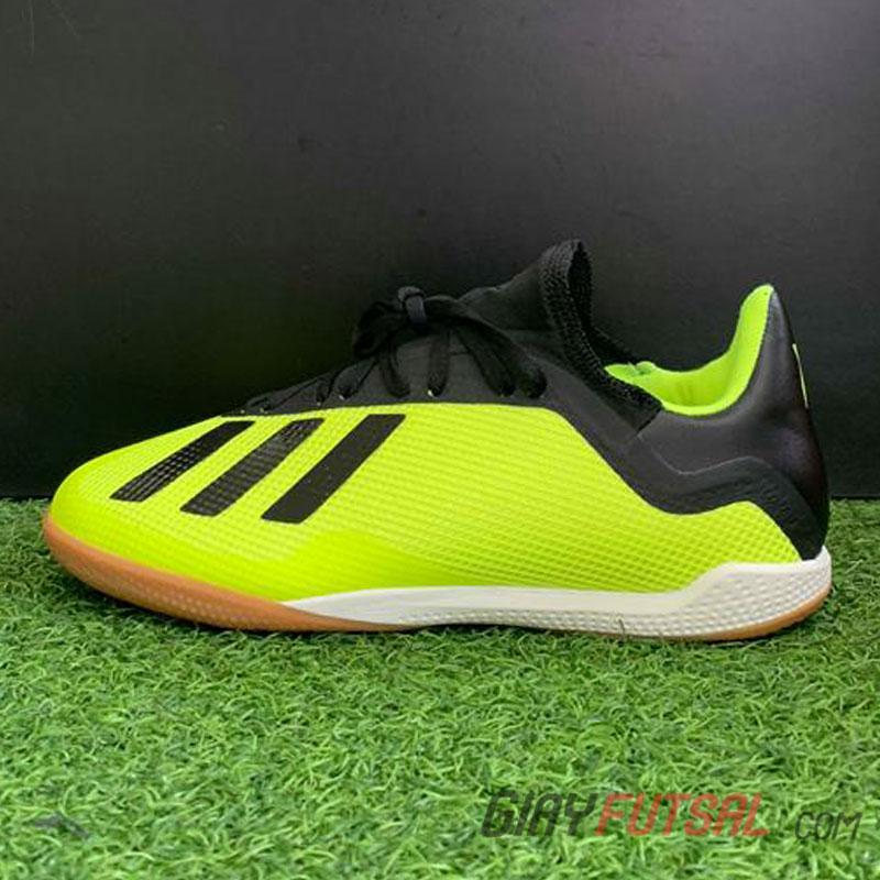 Giày Adidas X Tango 18.3 IC - xanh dạ (SF)
