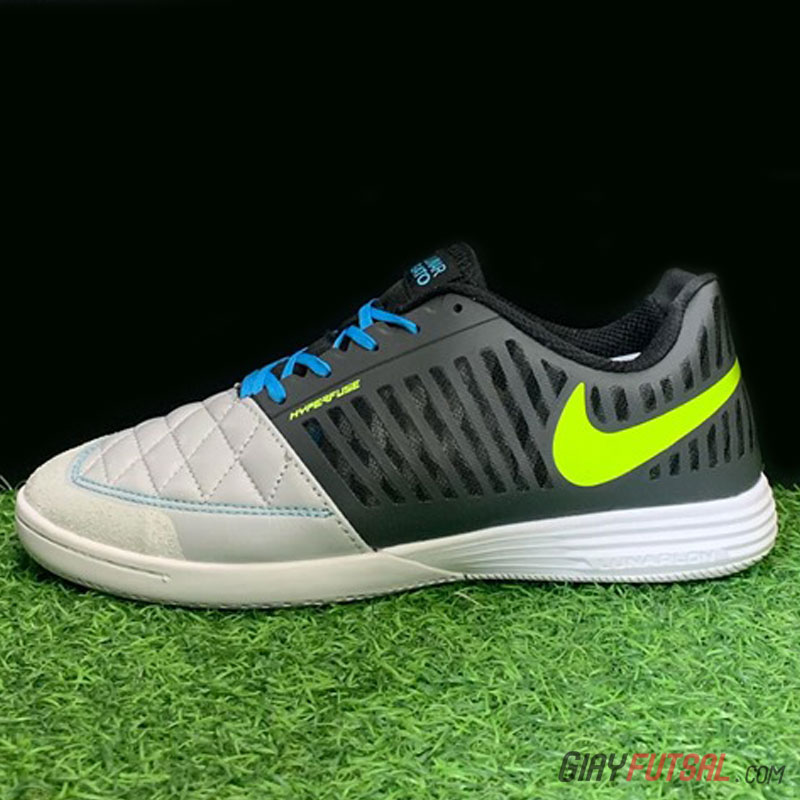 Giày Nike Lunar Gato II IC - đen xám (SF)