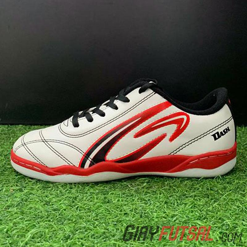 Giày Giga Dash IC - trắng đỏ