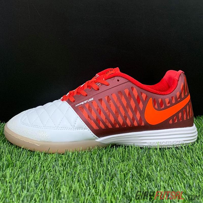 Giày Nike Lunar Gato II IC - trắng đỏ (SF)