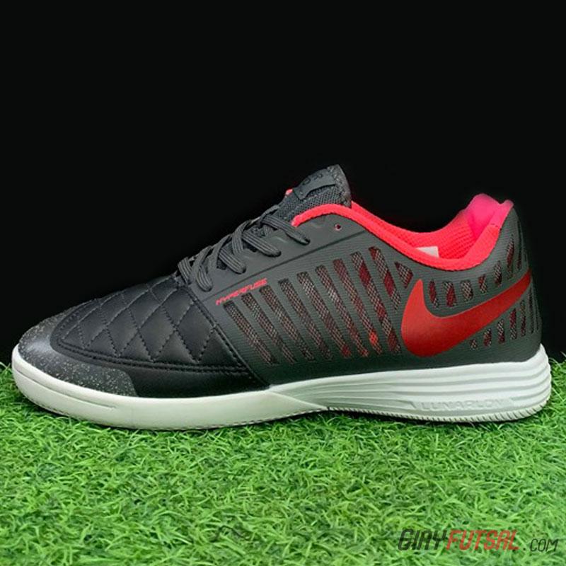 Giày Nike Lunar Gato II IC - đen hồng (SF)