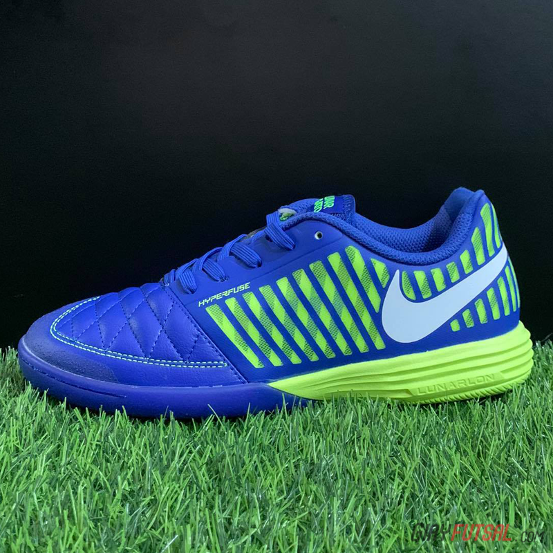 Giày Nike Lunar Gato II IC - xanh tím (SF)