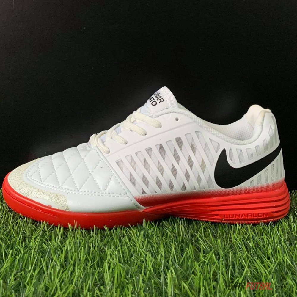 Giày Nike Lunar Gato II IC - trắng (SF)