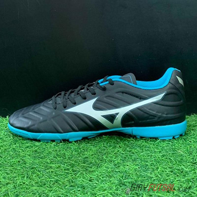 Giày Mizuno TF - đen xanh