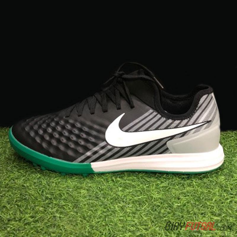 Giày Nike MagistaX Finale II TF - đen xám lá (SF)