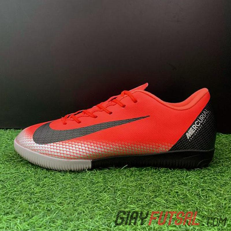 Giày Nike MercurialX Vapor XII Academy IC - hồng đỏ