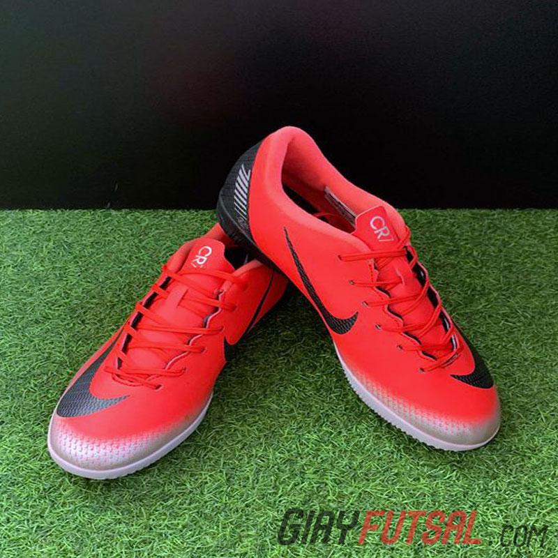 outlet store c3fb1 3f9d7 Giày Nike MercurialX Vapor XII Academy IC - hồng đỏ