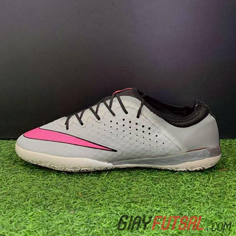Giày Nike MercurialX Finale IC - Xám Hồng