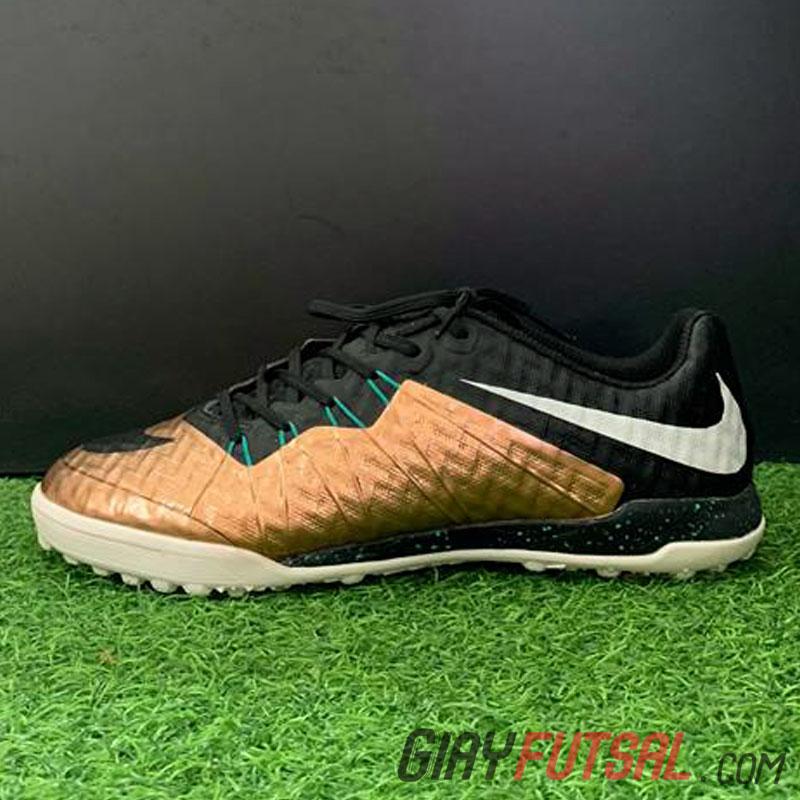 Giày Nike HypervenomX Finale II TF - đồng đen