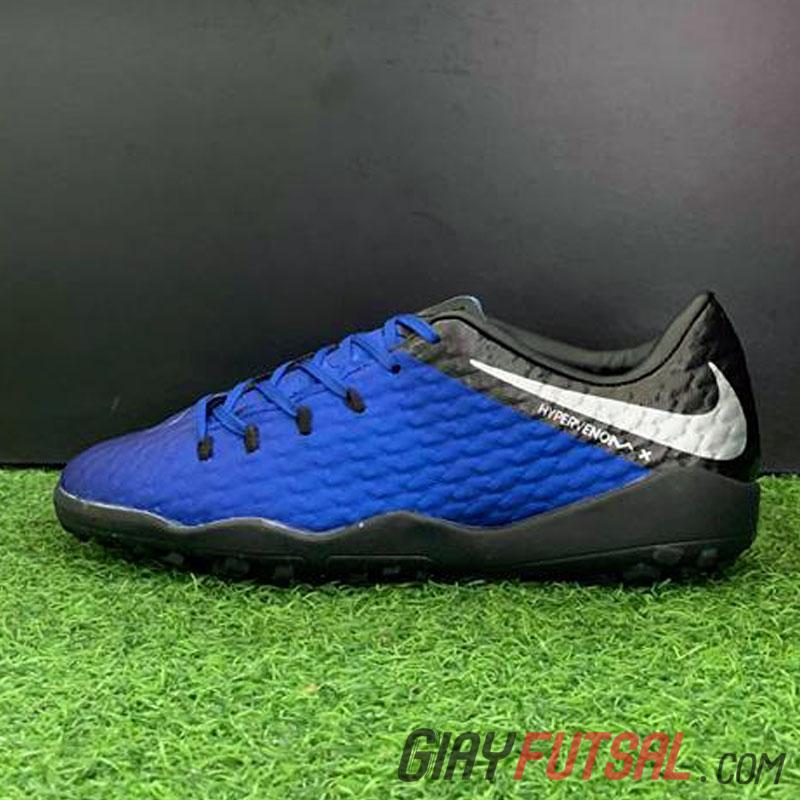Giày Nike HypervenomX Phantom Premium TF - xanh đen