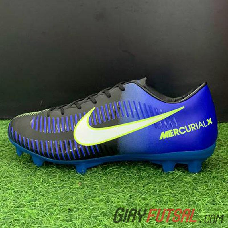 Giày Mercurial  Vapor XI Neymar FG - xanh dương đen (SF)