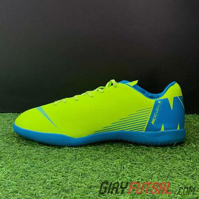 Giày Nike MercurialX Superfly 6 IC - xanh dạ