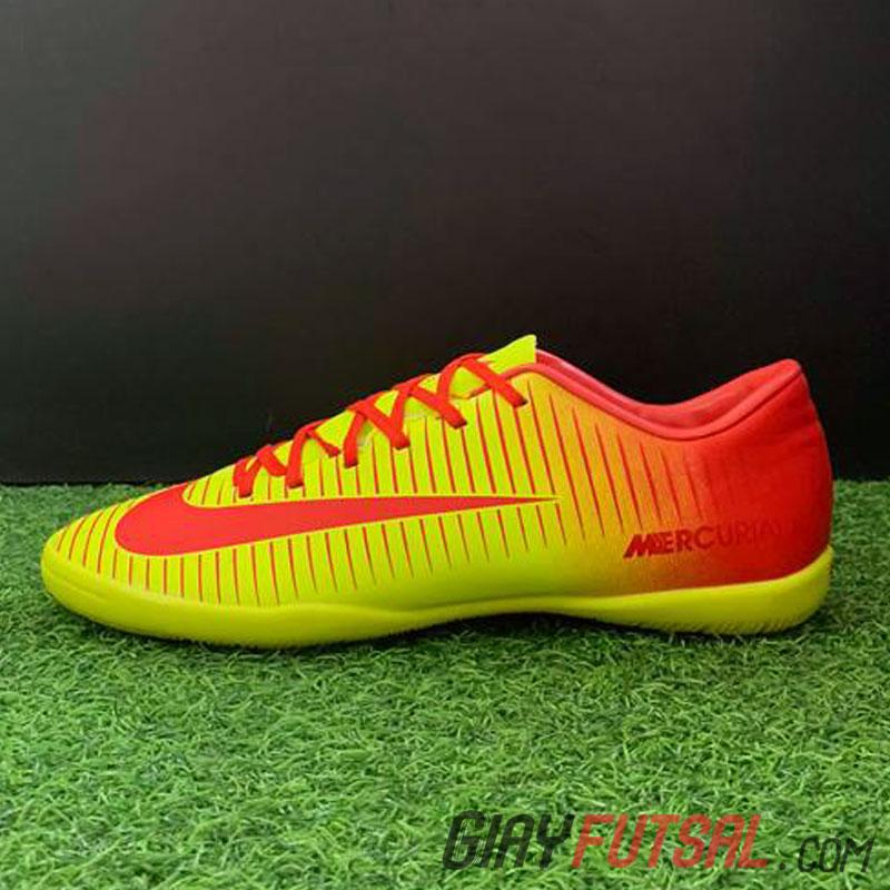 Giày Nike Mercurial Victory 6 IC - vàng đỏ