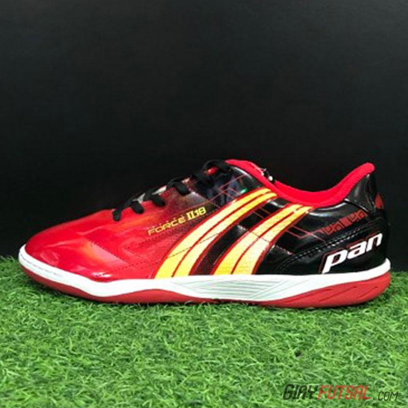 Giày Pan Force II.18 IC - đen đỏ