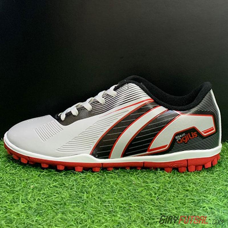 Giày Pan Bravo Agilics TF - xám đỏ