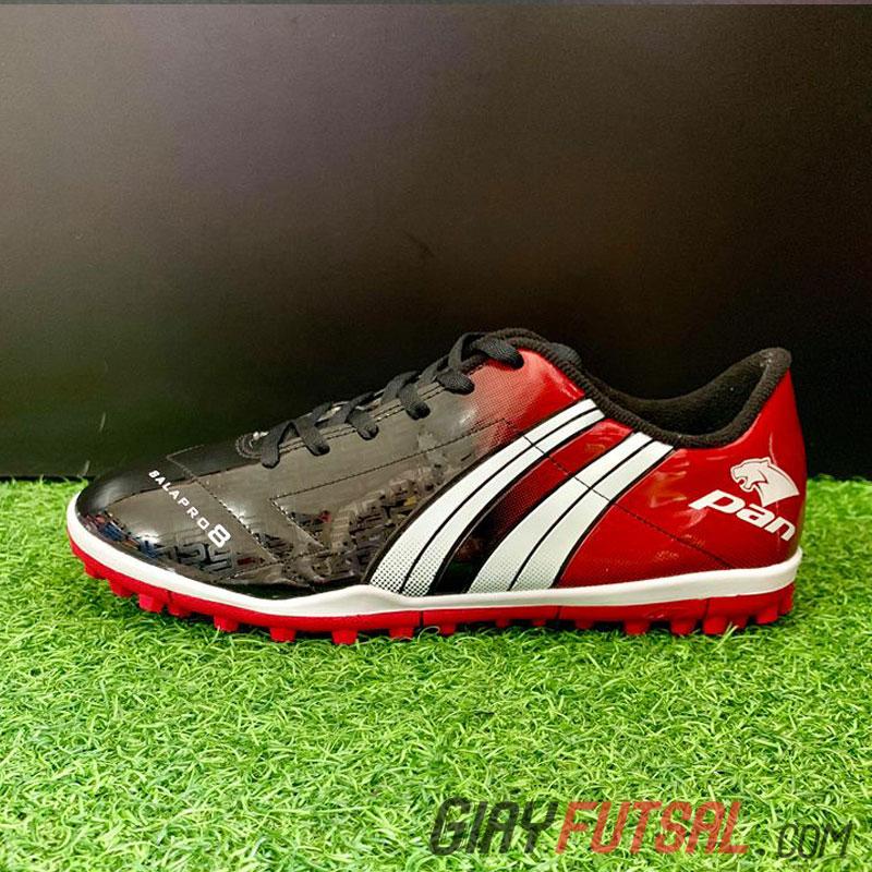 Giày Pan Salapro 8 TF - đen đỏ