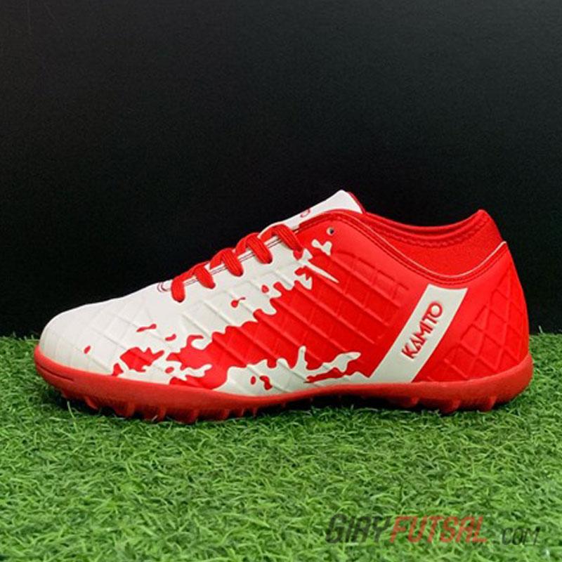 Giày Kamito QH.19 TF - trắng đỏ