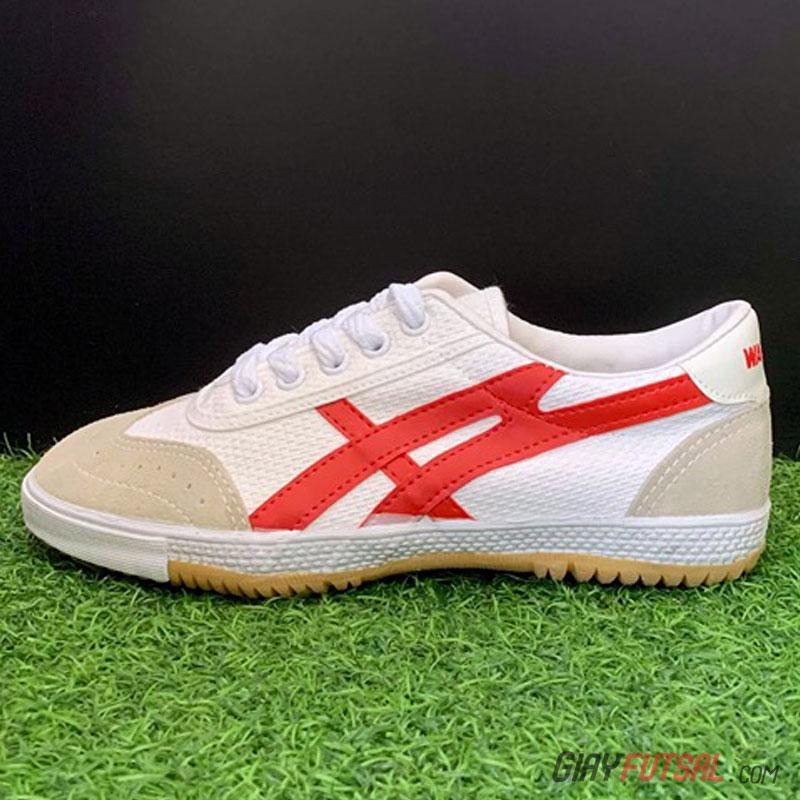 Giày Bata Warrior 27A - Trắng đỏ