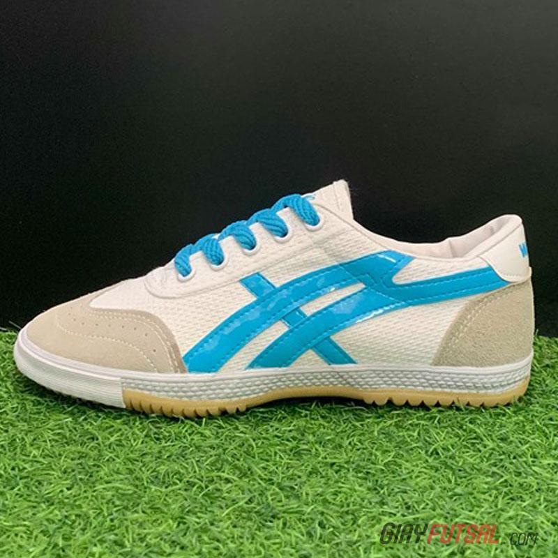 Giày Bata Warrior 27A - trắng xanh