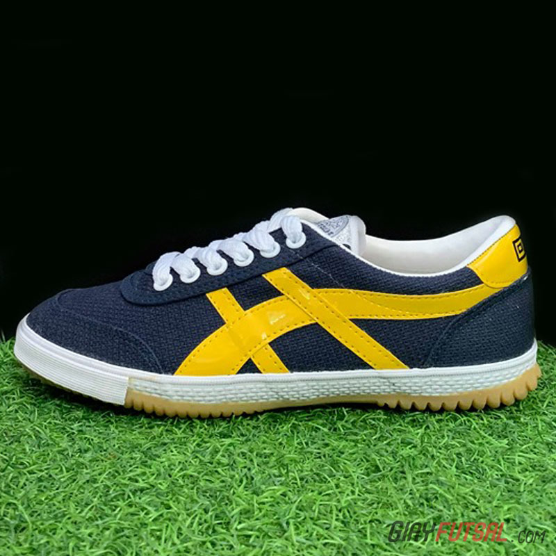 Giày Bata Warrior 27A - xanh đen vàng